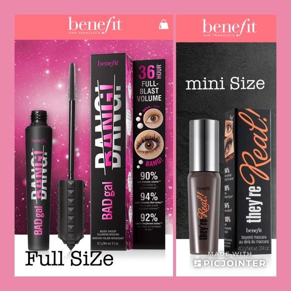 0918f916bea Benefit Makeup   Bad Gal Bang Wroller Mini Mascara   Poshmark